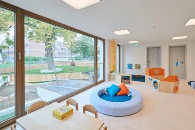 Neubau Kindergarten und Kinderkrippe